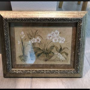 """Other - Framed Artwork """"Orchid Chorus Pair"""""""